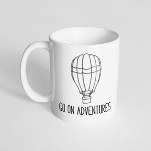 """Go on Adventures"" Mug"