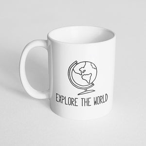 """Explore the world"" Mug"