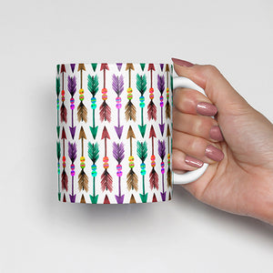 Colorful Arrows Bohemian Mug
