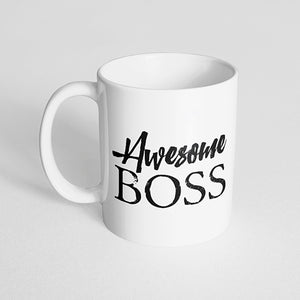 """Awesome Boss"" Mug"
