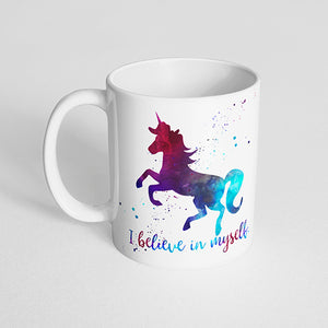 """I believe in myself"" Unicorn Mug"