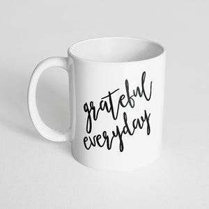 """Grateful Everyday"" Mug"