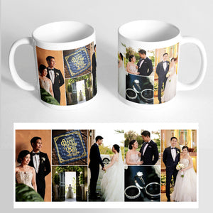 Your 7 Photos on a Classic White Mug