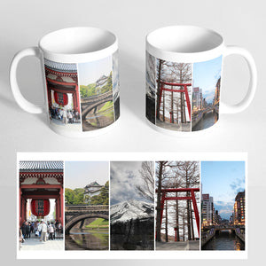 Your 5 Photos on a Classic White Mug
