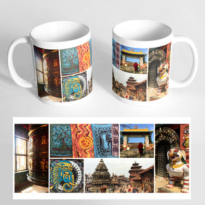 Your 6 Photos on a Classic White Mug