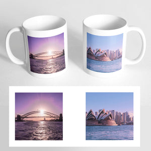 Your 2 Photos on a Classic White Mug