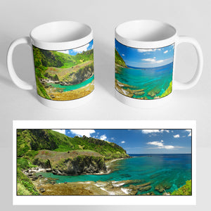 Your Panoramic Photo on a Classic White Mug