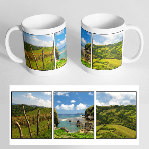 Your 3 Photos on a Classic White Mug