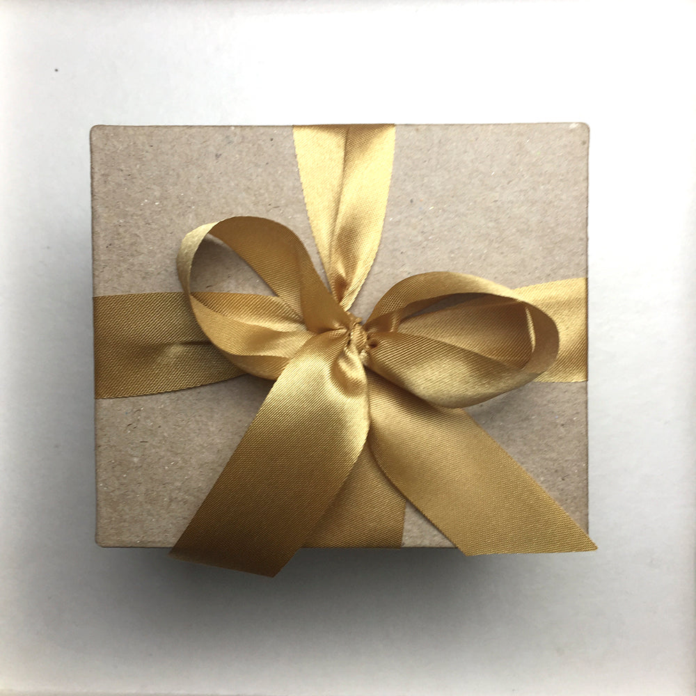 Special Gift Box with Gold Ribbon