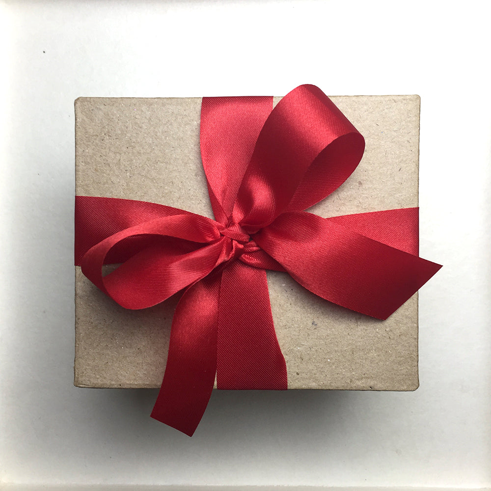 Special Gift Box with Red Ribbon