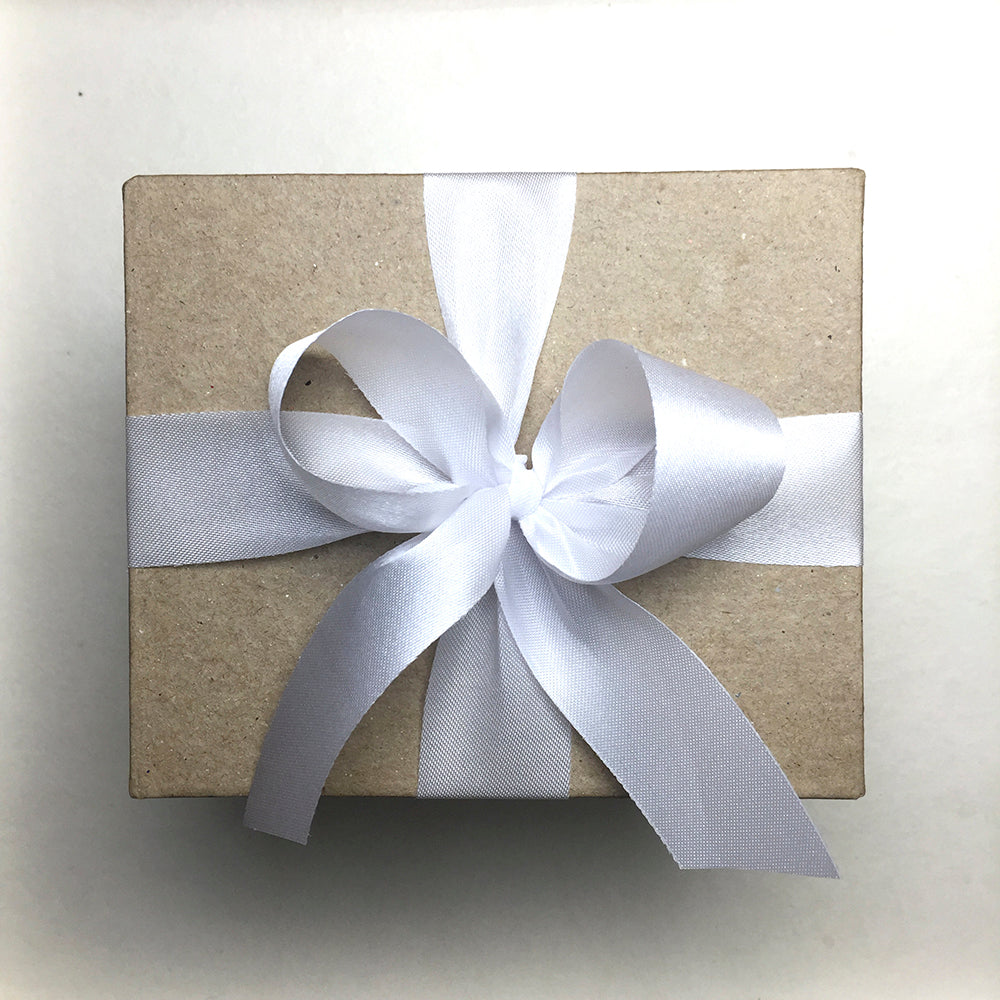 Special Gift Box with White Ribbon