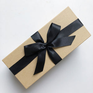 couple mug gift box with ribbon