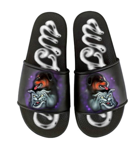 Pupps Slides - Black