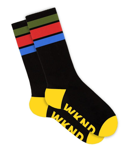 Stripe Socks - Black
