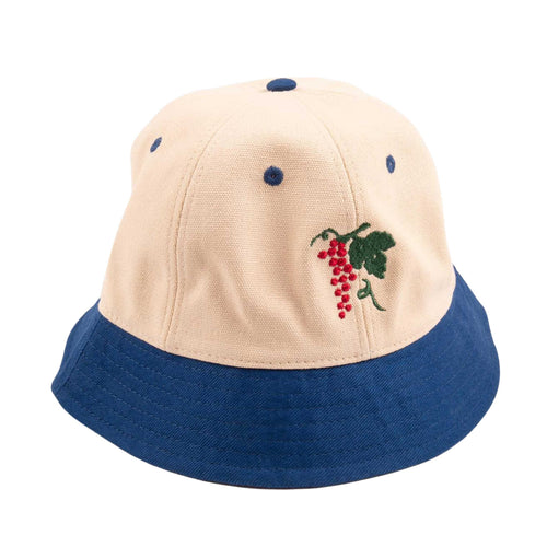 Life Of Leisure 6 Bucket Hat - Royal/Natural