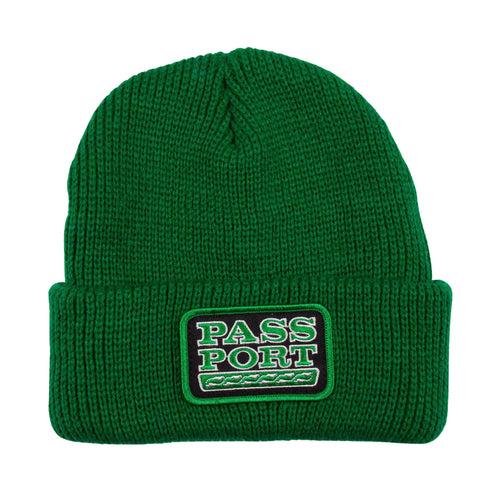 Auto Patch Beanie - Kelly Green