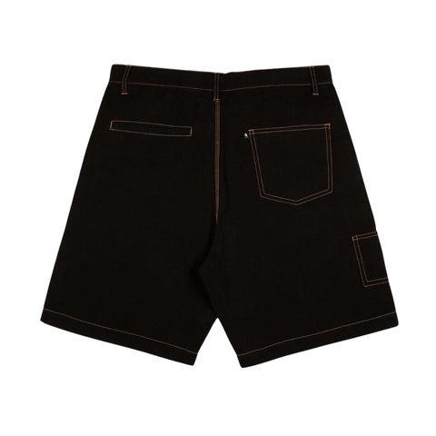 P~P Movers Shorts - Black/Gold
