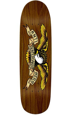 Classic Eagle Shaped Deck - Brown - Hemley Skateboarding