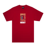 Behind Bars Tee - Red - Hemley Skateboarding