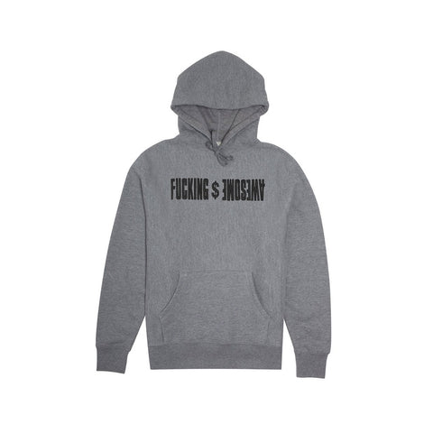 GDP Embroidered Hoodie - Grey Heather