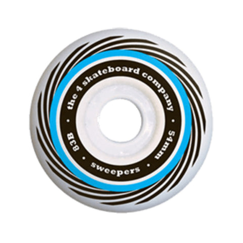 4 Sweeper Wheel - Blue - Hemley Skateboarding