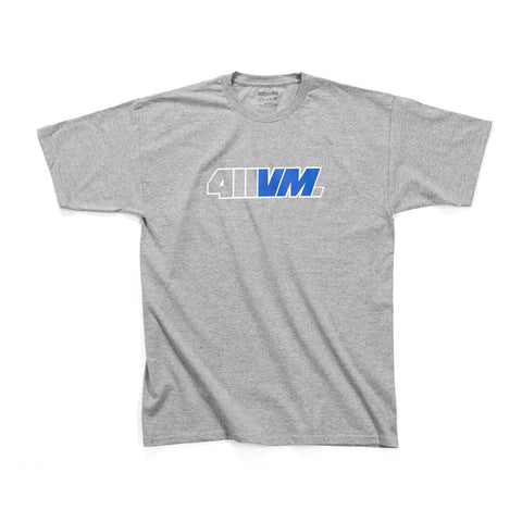 411VM Issue 44 Tee - Heather Grey - Hemley Skateboarding