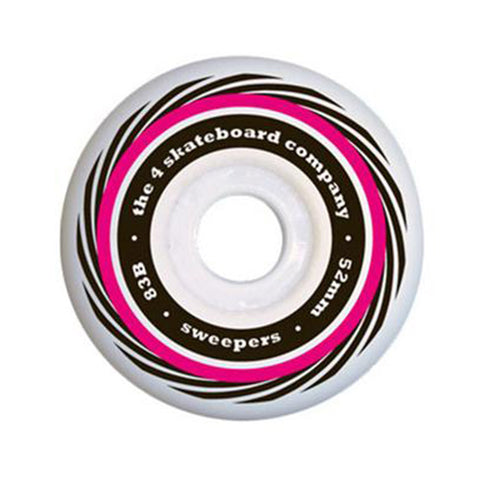 4 Sweeper Wheel - Red - Hemley Skateboarding