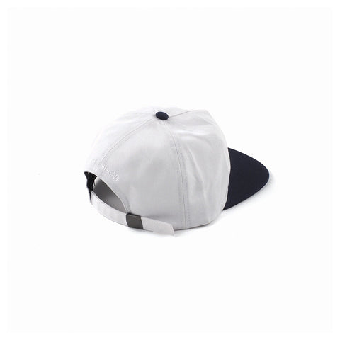 TC Twill Strapback - Off White