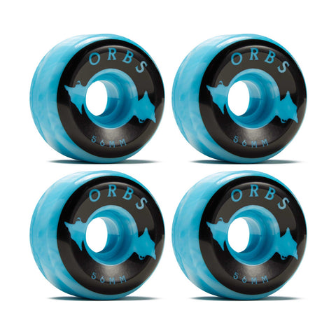 Orbs Specters Swirls - 56mm - Blue/White