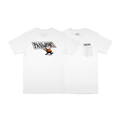 Mirror Man Tee - White