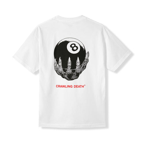 8-Ball Claw Tee - White - Hemley Skateboarding