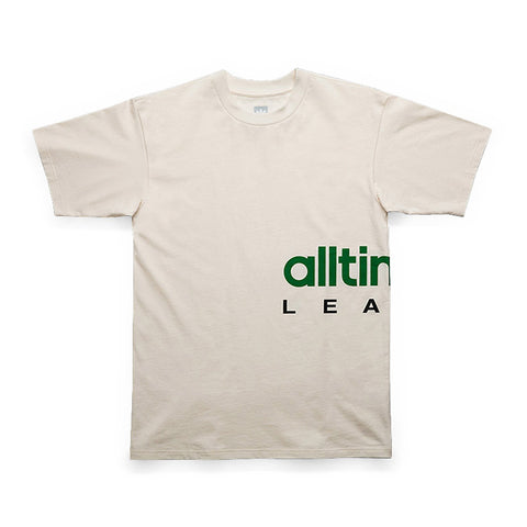 Adidas x Alltimers Tee - White/Green/Black - Hemley Skateboarding