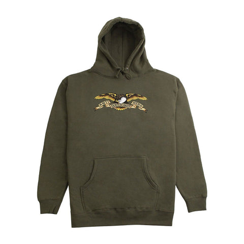Hoodie Sweat Eagle - Army