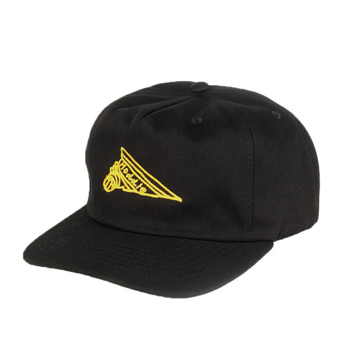 Library Wall 5 Panel Snap back - Black