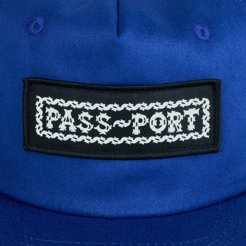 Barbs 5 Panel - Blue