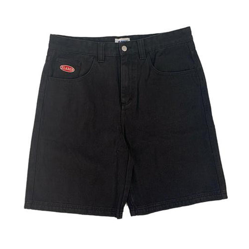 Baggie Denim Short - Black Denim