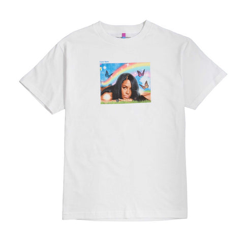 Aaliyah Meadow Tee - White
