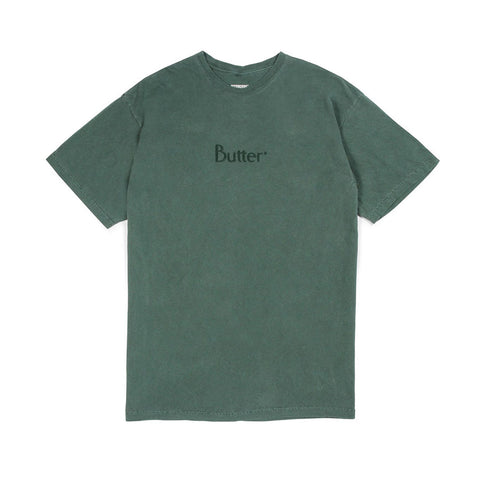 Tonal Embroidered Classic Logo Tee - Willow
