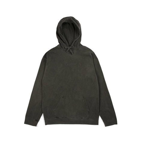 Tonal Embroidered Classic Logo Pullover - Vintage Black