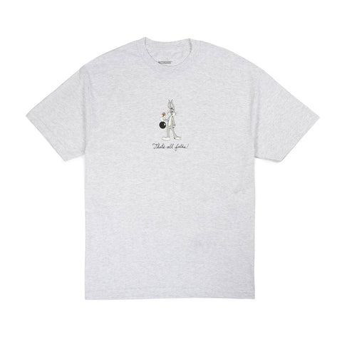 That's All Folks Tee - White