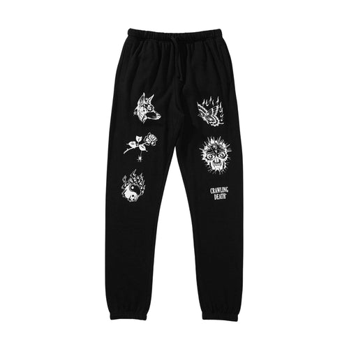 Spider Sinclair Collab Sweatpants - Black
