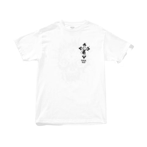Spider Sinclair Collab - Skull Tee - White
