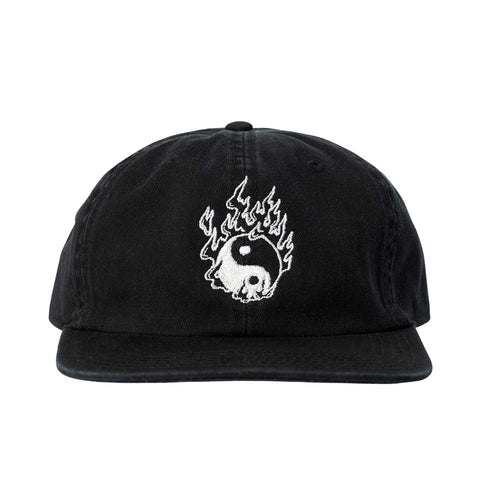 Spider Sinclair Collab - Ying Yang Cap - Black