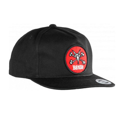 Vato Rat Patch Snapback - Black