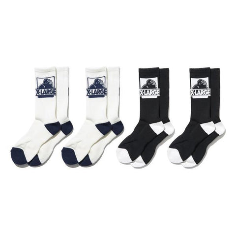 Classic OG Sock 4Pack - Assorted