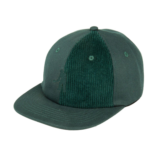 Cord Patch 6 Panel Cap - Moss