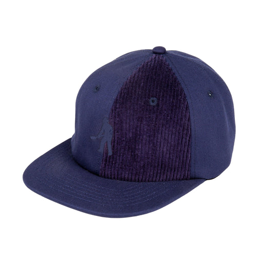 Cord Patch 6 Panel Cap - Navy