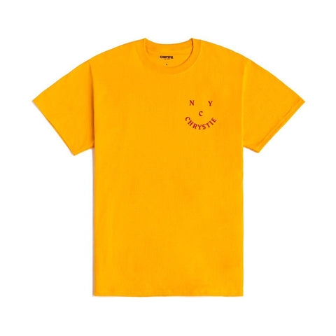 Smile Logo Tee - Gold