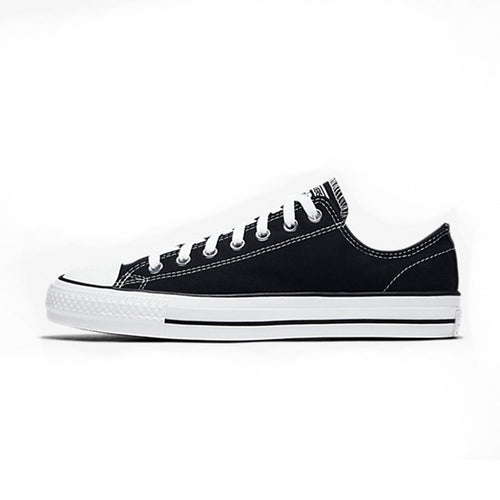 CTAS Pro Low Canvas - Black/White - Hemley Skateboarding