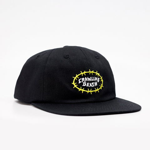 Barbed Wire Cap - Black